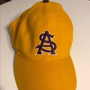 Other - ASU Sun Devils Yellow Baseball Hat Cap Mens 7 1/4